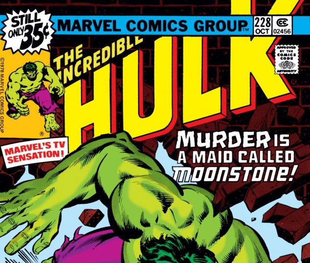 Incredible Hulk (1962) #228 Cover