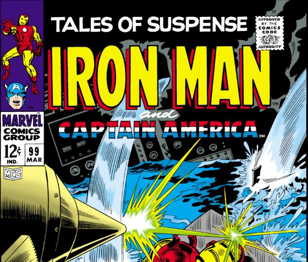 Tales of Suspense (1959) #99 Cover