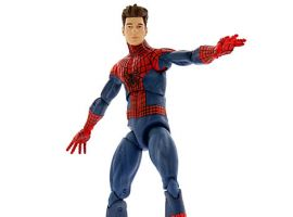 Exclusive Unmasked Amazing Spider-Man 2 Action Figure