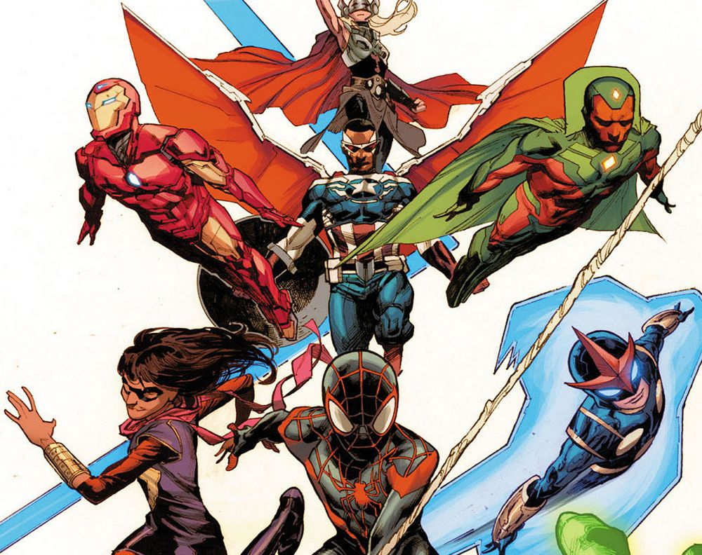 All-New, All-Different Avengers Assemble!