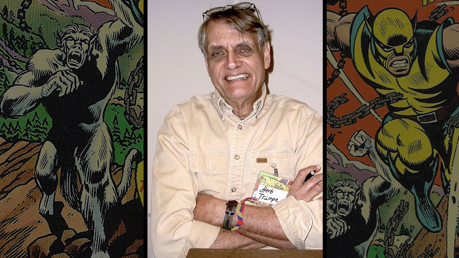 Marvel Remembers Herb Trimpe (photo by Luigi Novi)