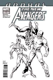 New Avengers Annual #1  (Architect Sketch Variant)