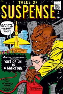 Tales of Suspense (1959) #4 Cover