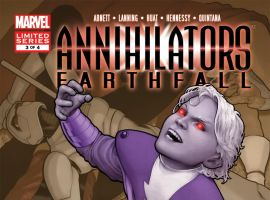 Annihilators: Earthfall (2011) #3 Cover