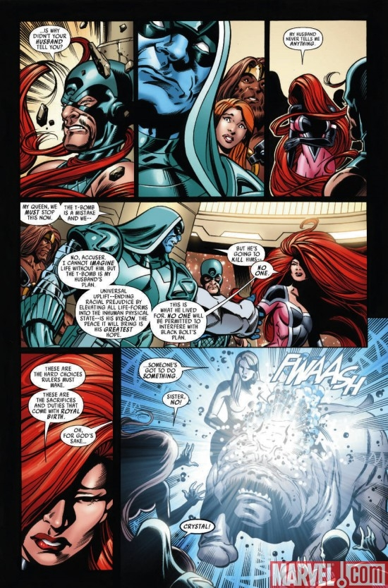 WAR OF KINGS #6, page 6