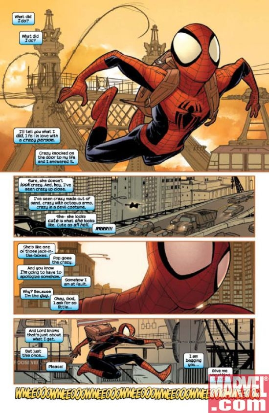ULTIMATE SPIDER-MAN ANNUAL #3 preview art by David Lafuente