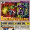 Captain America vs. Baron Zemo, Card #99
