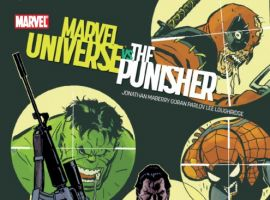 MARVEL UNIVERSE VS. THE PUNISHER #1 cover by Goran Parlov
