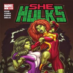 SHE-HULKS #1 cover by Ed McGuinness