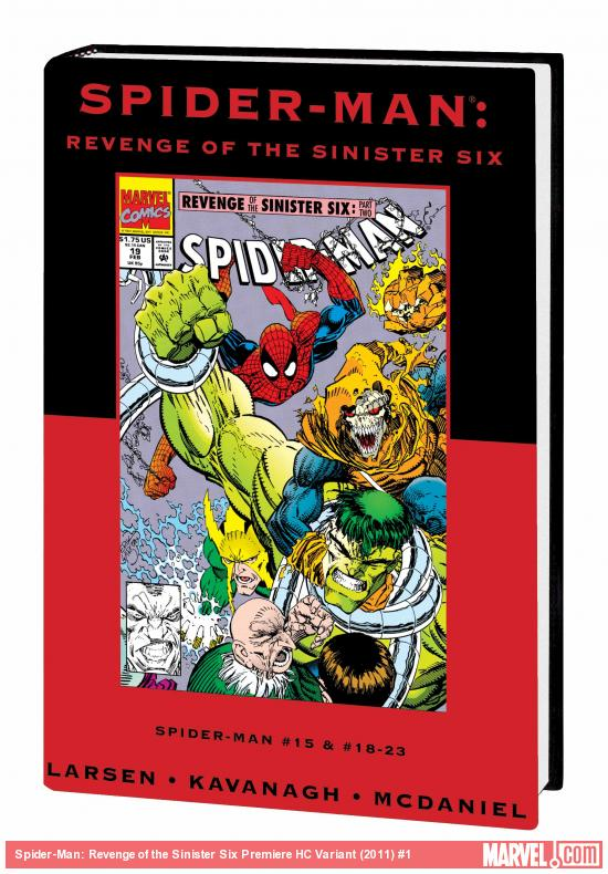 SPIDER-MAN: REVENGE OF THE SINISTER SIX PREMIERE HC VARIANT (DM ONLY)