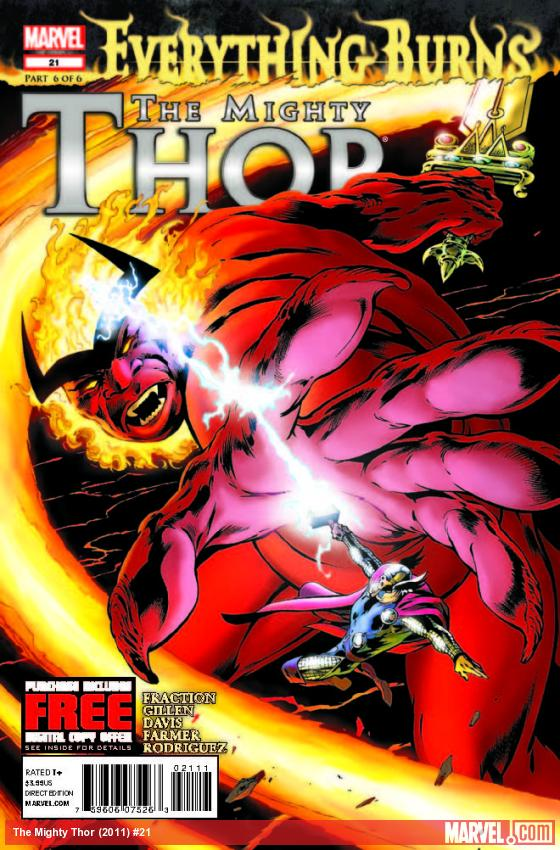 THE MIGHTY THOR 21 (WITH DIGITAL CODE)