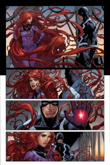Uncanny Inhumans #0 preview art by Steve McNiven