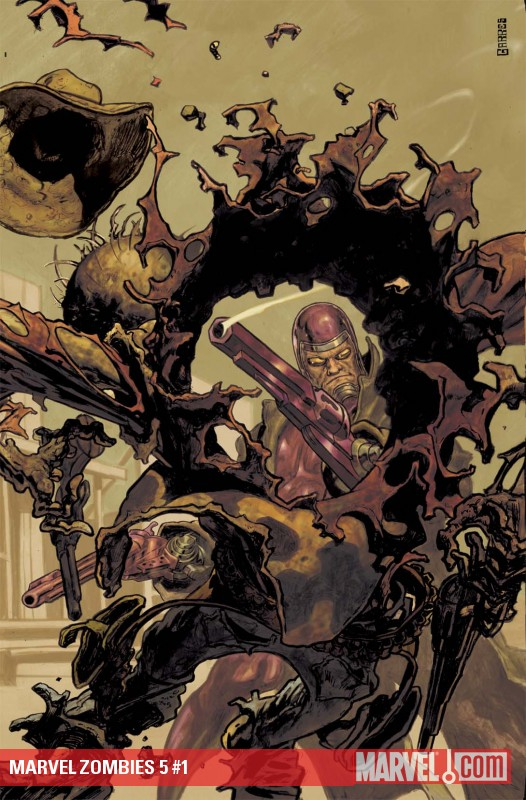 Marvel Zombies 5 #1 cover