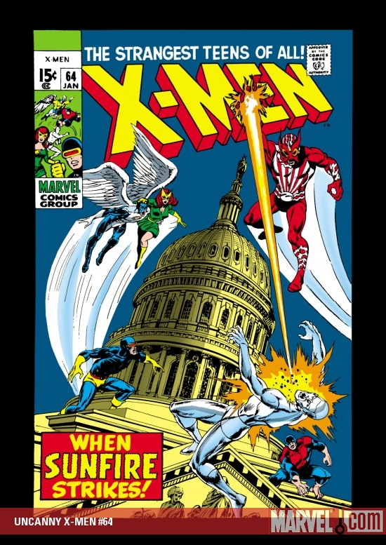 UNCANNY X-MEN #64