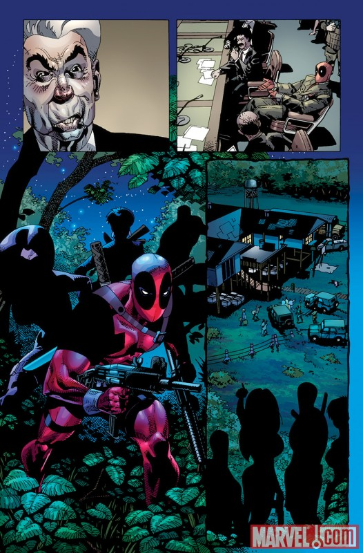 DEADPOOL: WADE WILSON'S WAR #1 preview art by Jason Pearson 1