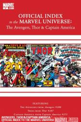 Avengers, Thor &amp; Captain America: Official Index to the Marvel Universe #6 