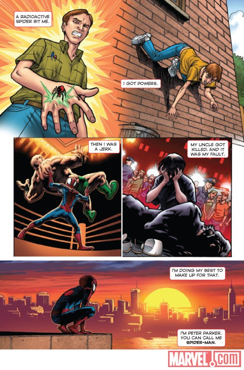 MARVEL ADVENTURES SPIDER-MAN #4 preview art by Matteo Lolli