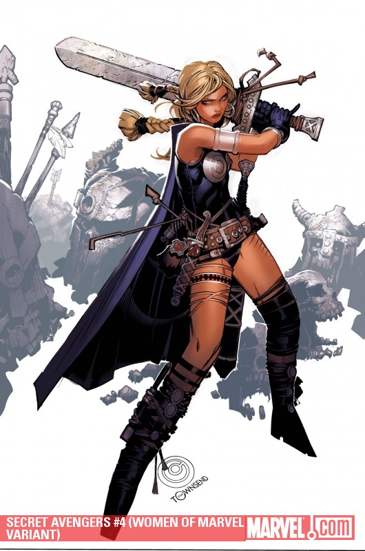 Secret Avengers (2010) #4 (WOMEN OF MARVEL VARIANT)