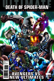 Ultimate Comics Avengers Vs New Ultimates (2010) #6 (Hitch Variant)