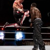 Evan Bourne strikes against R-Truth