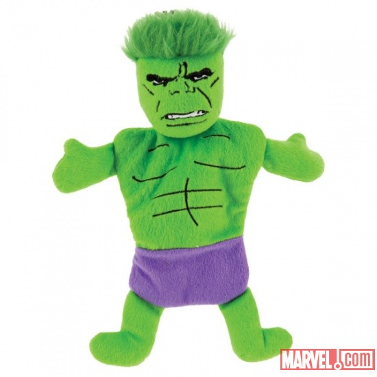 Hulk Flat Dog Toy w/ Crinkle by Fetch available at PetSmart