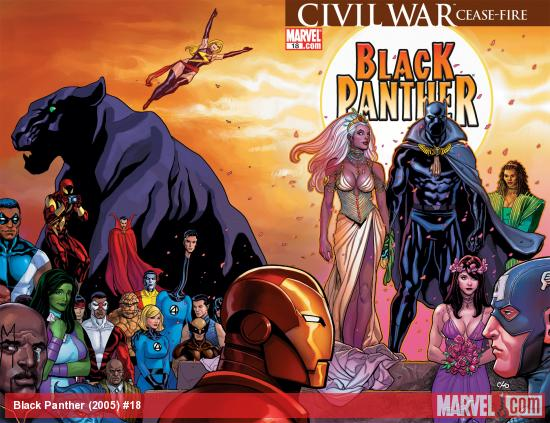 Black Panther (2005) #18