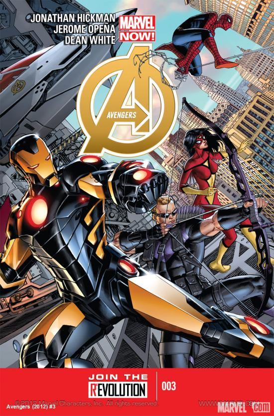 Avengers (2012) #3 Cover