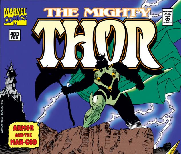 Cover for Thor (1966) #483