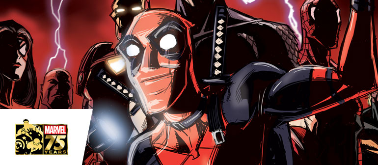 Deadpool 75th Anniversary Cover Gallery