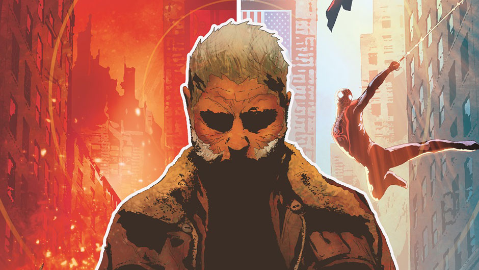 Old Man Logan #1 cover by Andrea Sorrentino