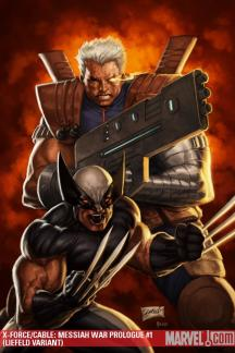 X-Force/Cable: Messiah War Prologue (2009) #1 (LIEFELD VARIANT)