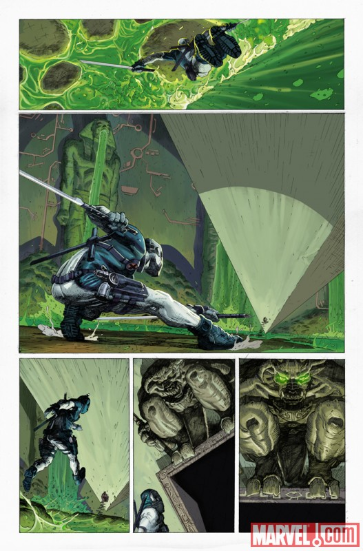 UNCANNY X-FORCE #1 preview art by Jerome Opena 2