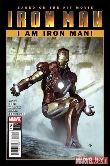IRON MAN: I AM IRON MAN! #2 cover by Adi Granov