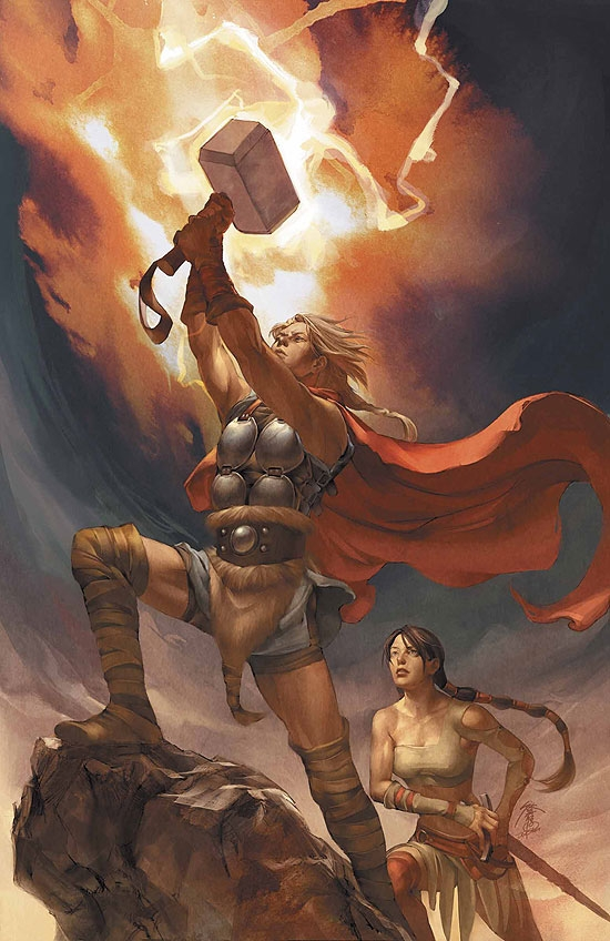 THOR: SON OF ASGARD (2006) #12 COVER