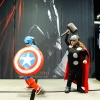 C2E2 2011 - Marvel Costume Contest - Captain America & Thor