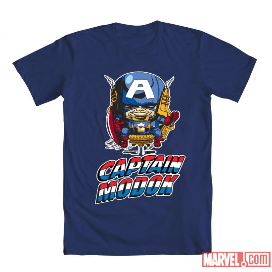 Cap M.O.D.O.K. Tee by Mighty Fine