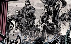 Captain America & Bucky: Enter the Invaders