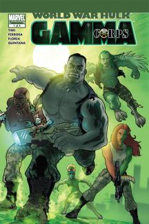 World War Hulk: Gamma Corps #1