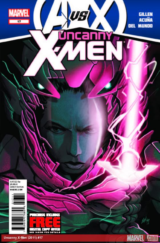 UNCANNY X-MEN 17 (AVX, WITH DIGITAL CODE)