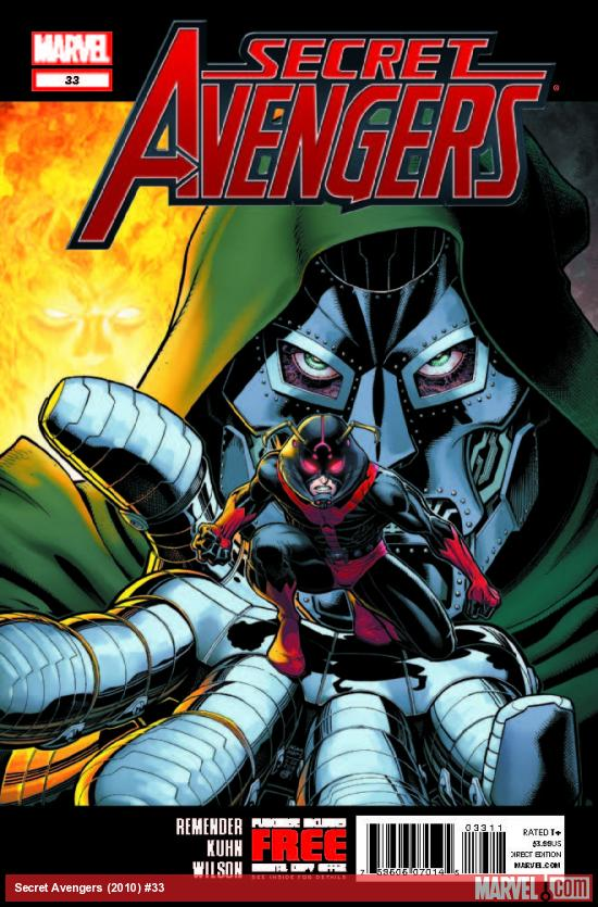 SECRET AVENGERS 33 (WITH DIGITAL CODE)