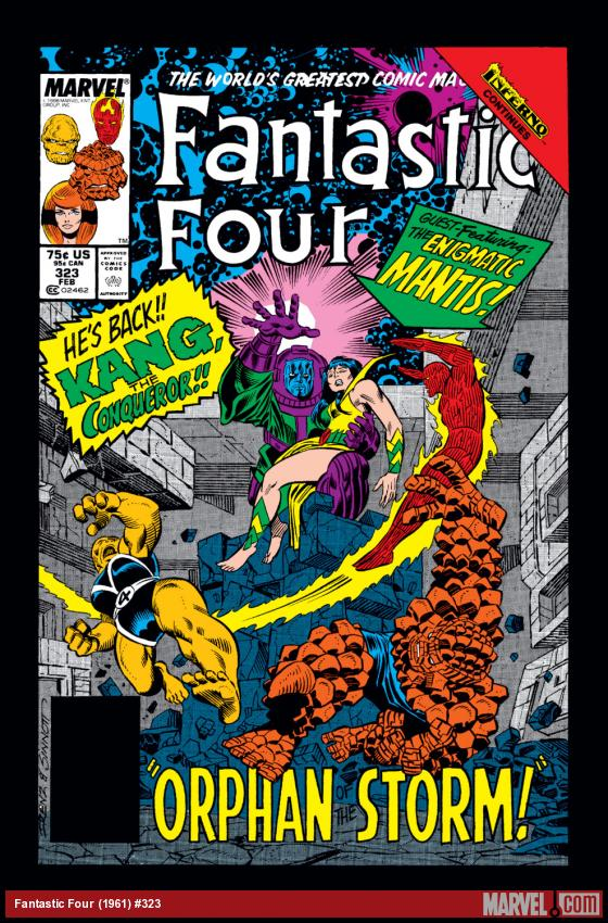 Fantastic Four (1961) #323 Cover