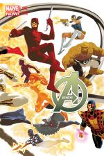 Avengers (2012) #12 (Avengers 50th Anniversary Variant)