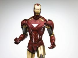 Iron Man Movie Mark VI Fine Art Statue from Kotobukiya