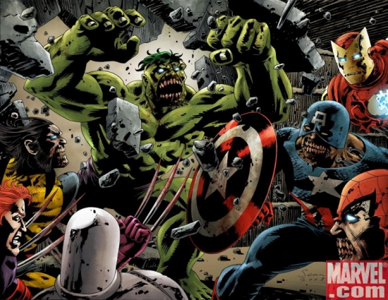 Images From Marvel Zombies: When B-Listers Attack!