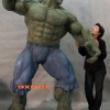 The Incredible Hulk statue from Muckle Mannequins
