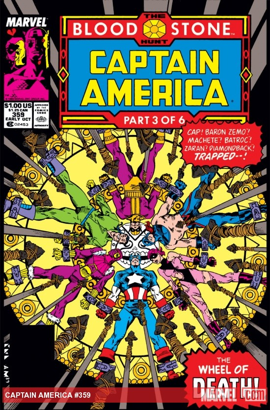 Captain America (1968) #359