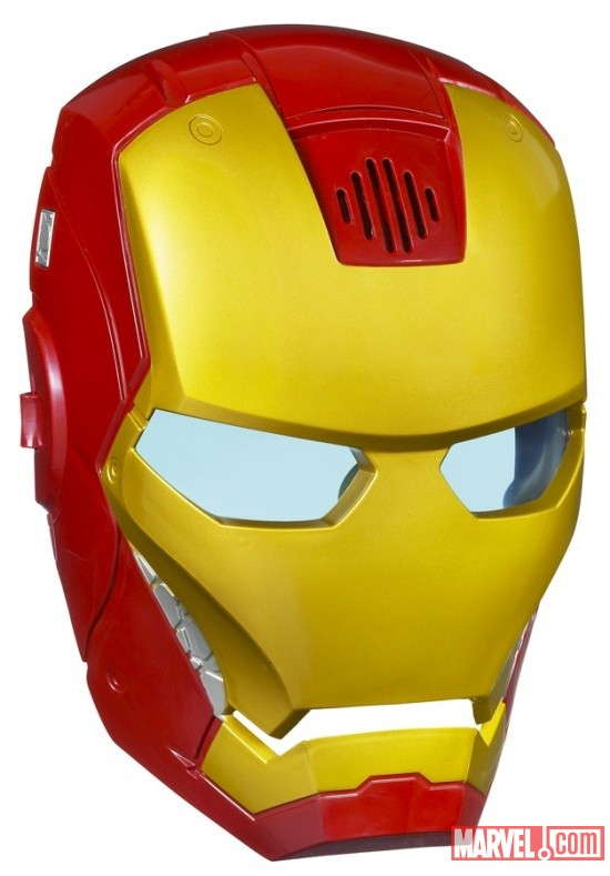 Marvel Avengers Hero Mask Iron Man