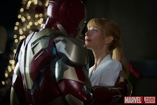 Gwyneth Paltrow stars as Pepper Potts in Iron Man 3