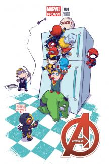 Avengers #1  (Young Variant)