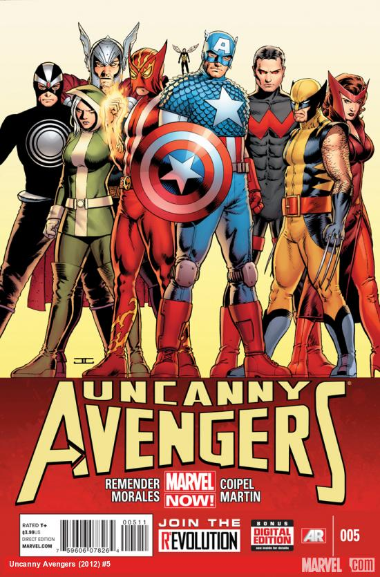 UNCANNY AVENGERS 5 (NOW, WITH DIGITAL CODE)
